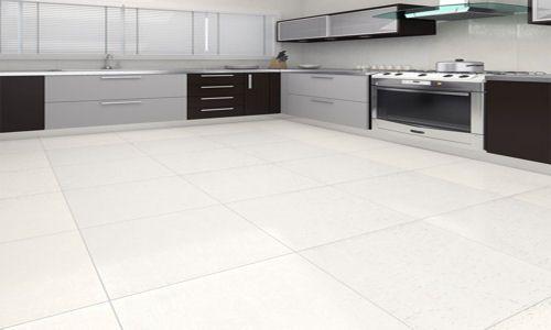 Artico white matt porcelain floor tiles 60x60cm suitable for Flooring suitable for kitchens