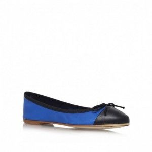 Ballerine bicolor blu e nere Kurt Geiger  #shoes #ballerine #scarpe #primaveraestate #sprinsummer #flat