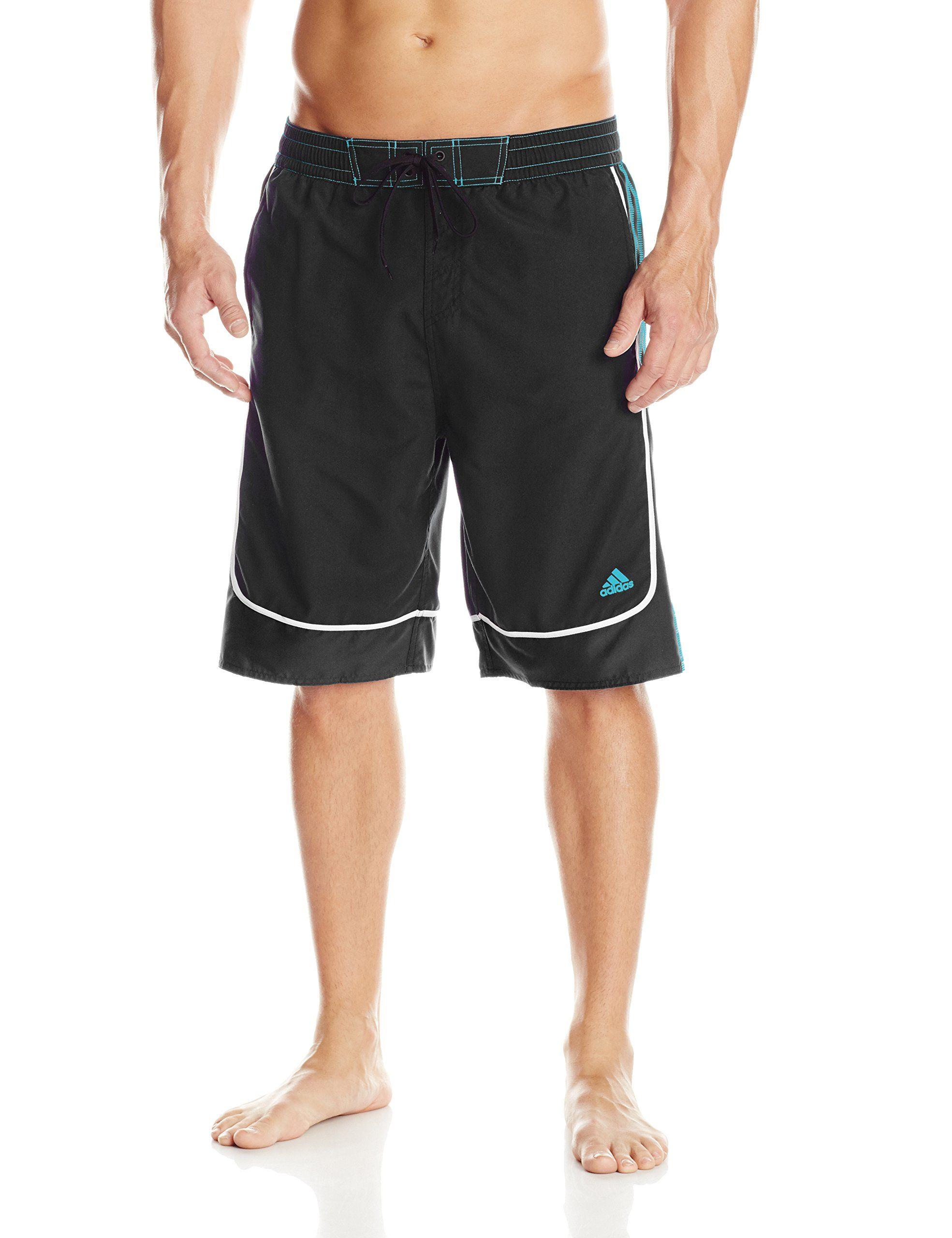 217909298c6ef adidas Men's Big-Tall Predator Volley Swim Short at Amazon Men's ...