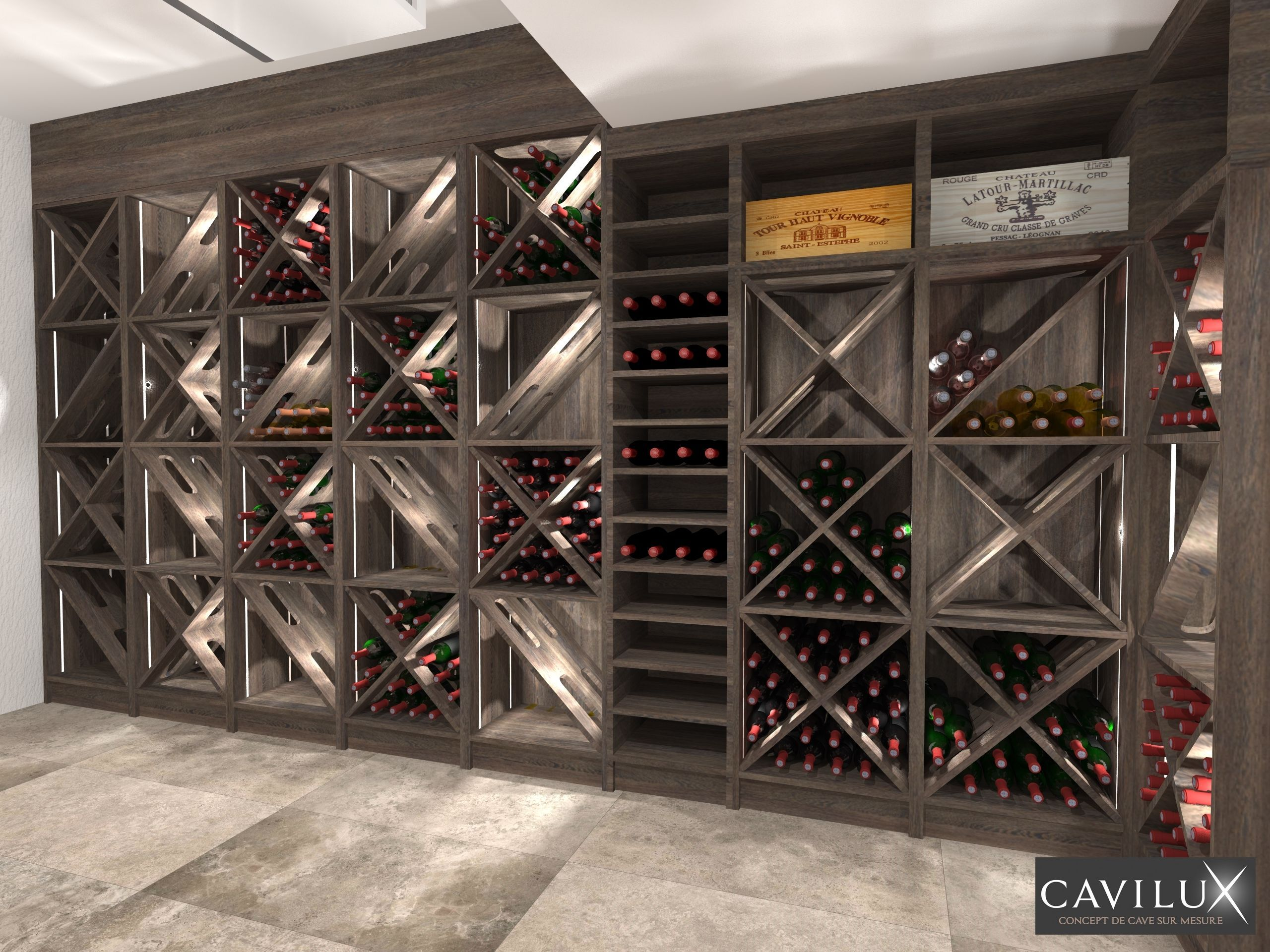 Projets 3d Cavilux Fabricant De Cave A Vin Sur Mesure Home