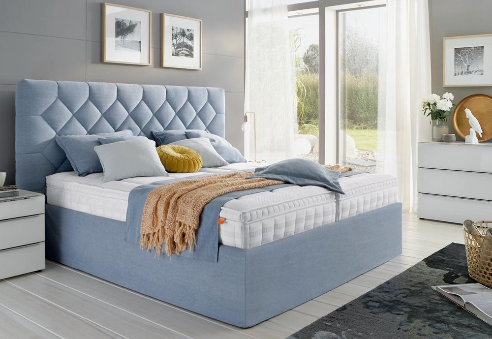 polsterbett oder lieber boxspringbett schlafzimmer pinterest polsterbett boxspringbett. Black Bedroom Furniture Sets. Home Design Ideas