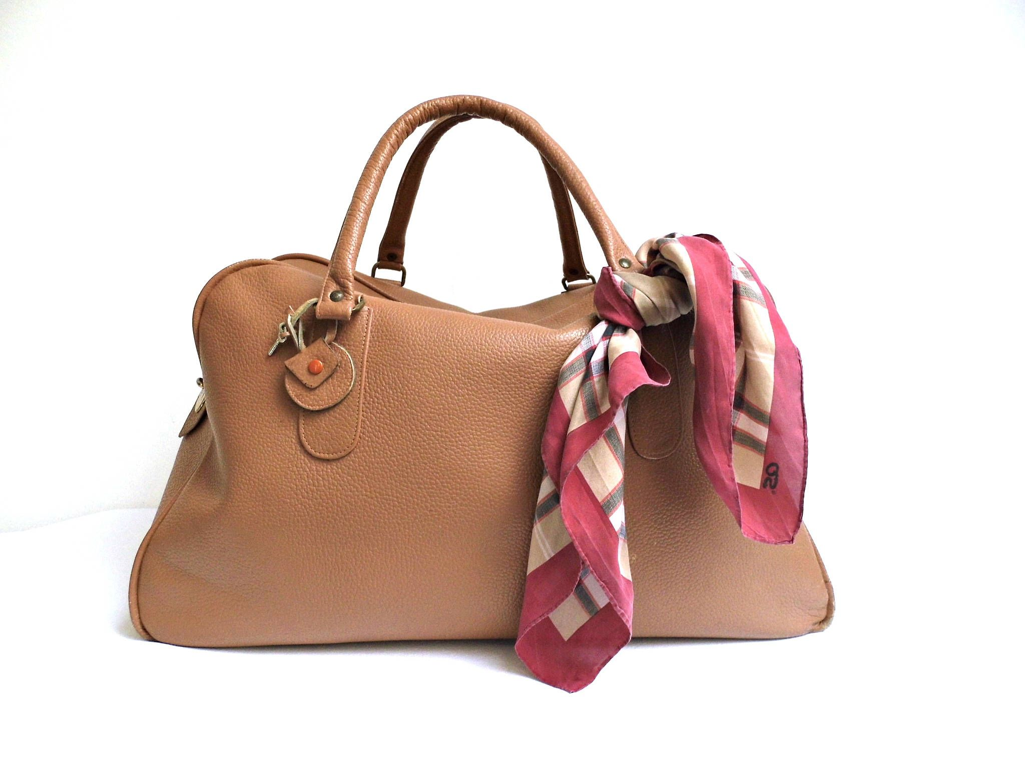 26415d9888 Womens Leather Travel Duffle Bag