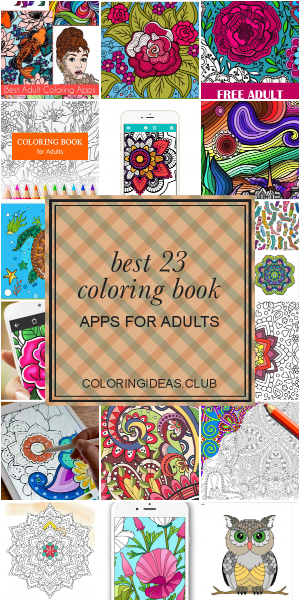 Best 23 Coloring Book Apps For Adults In 2020 Coloring Book App Coloring Books Detailed Coloring Pages