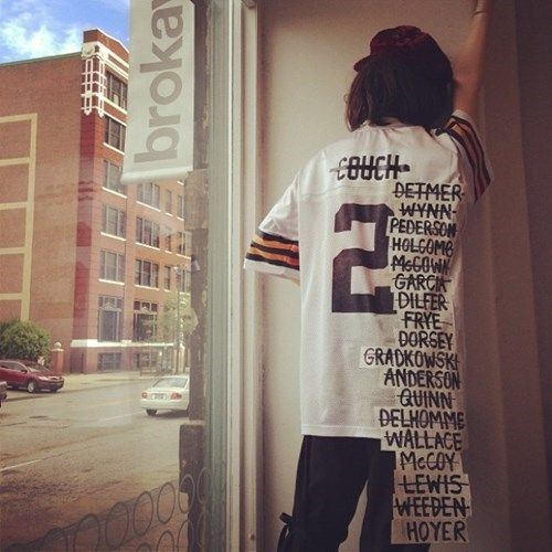 This Browns Jersey Sums Up Cleveland S Woes Perfectly Personalized Jersey Cleveland Browns Cleveland