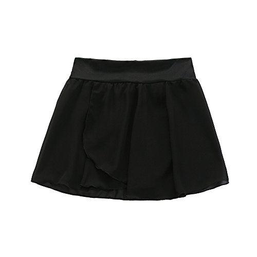 bc08edf9efb77 STELLE Girls  Ballet Dance Chiffon Wrap Skirt