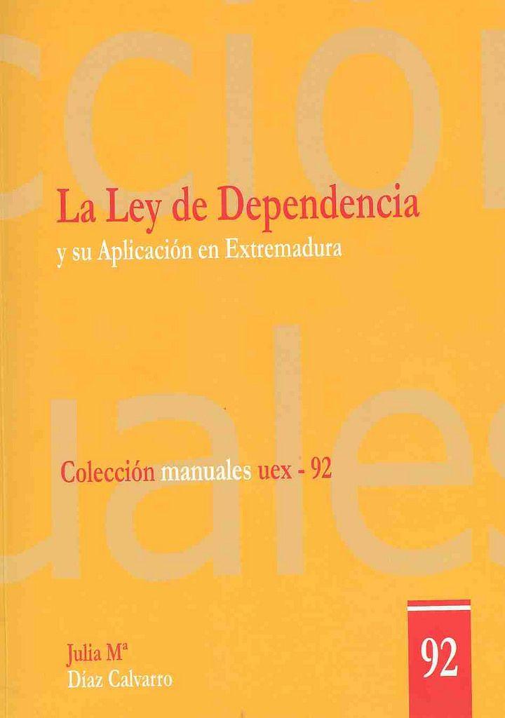 https://flic.kr/p/vNPXRj | La Ley de Dependencia y su aplicación en Extremadura : intenciones y realidades / Julia Mª Díaz Calvarro,2014 | encore.fama.us.es/iii/encore/record/C__Rb2674809?lang=spi