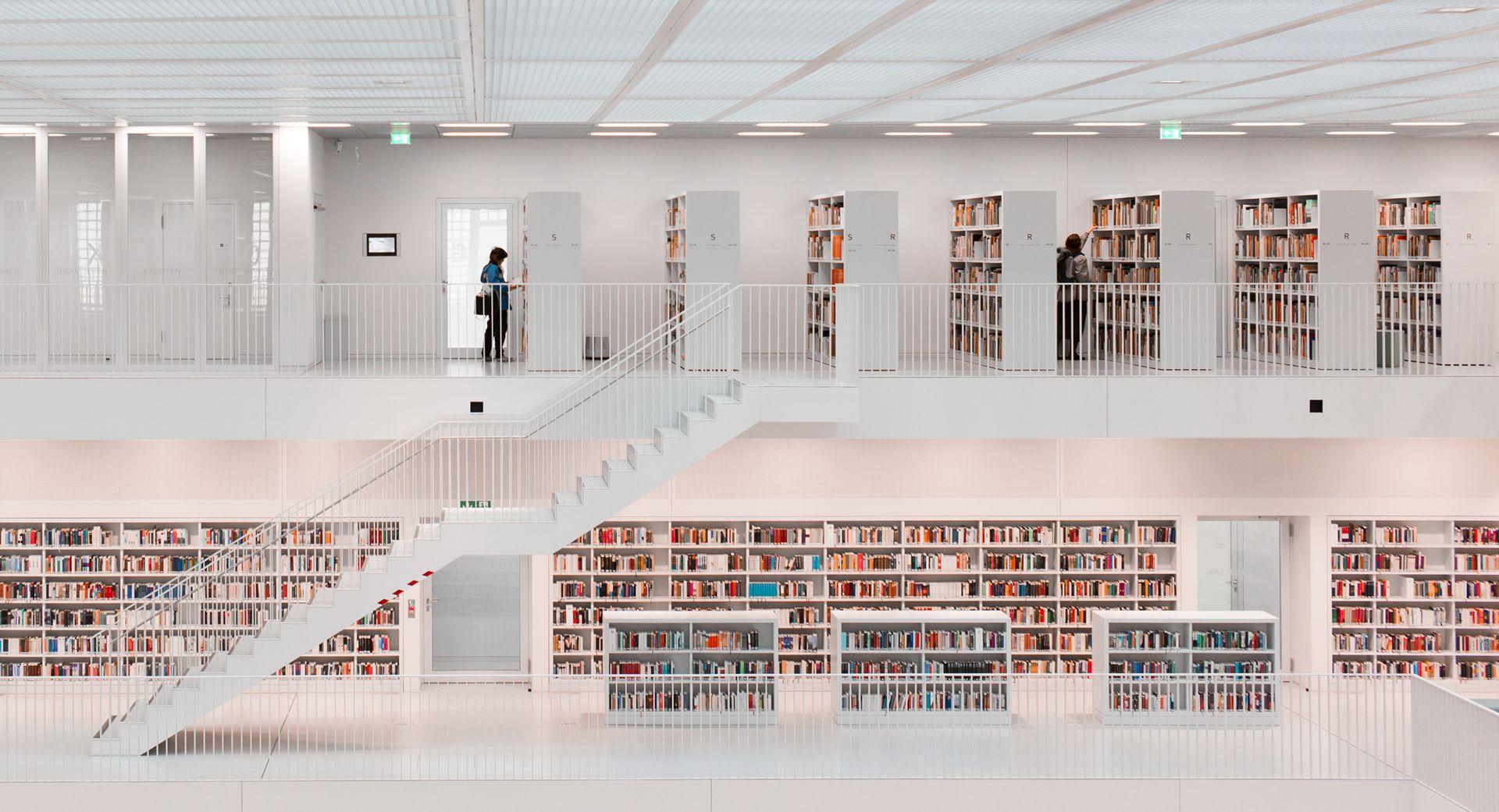 Architecture: Stuttgart City Library