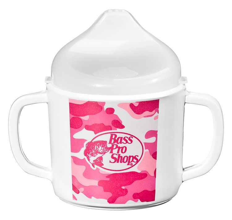 Bass Pro Shops 8 oz. Sippy Cup for Kids - Pink Camo | Bass Pro Shops: The Best Hunting, Fishing, Camping & Outdoor Gear