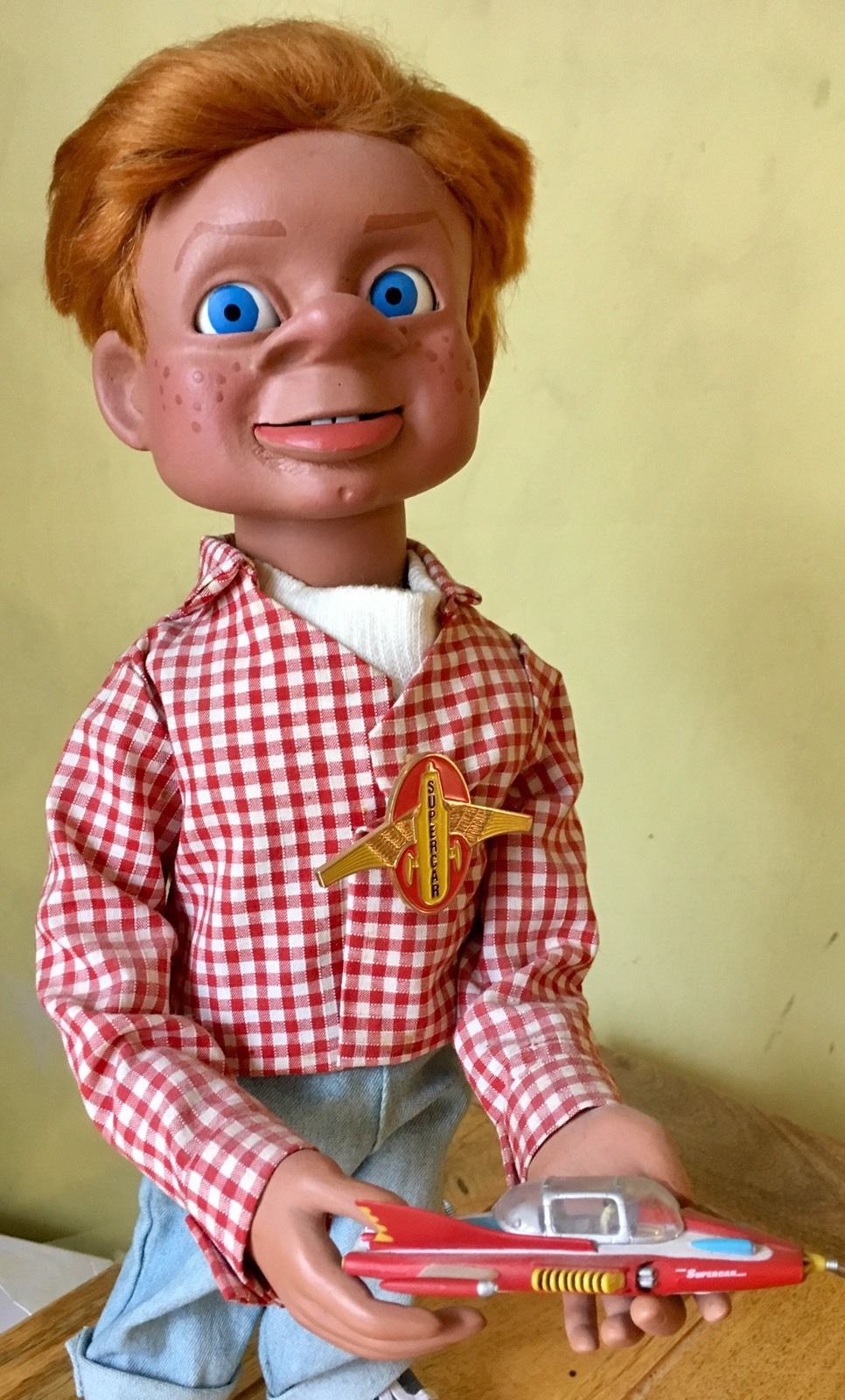 Details About Gerry Anderson Puppets Supercar Tv Show Supermarionation Marionette Jimmy Gerry Anderson Super Cars Tv Shows