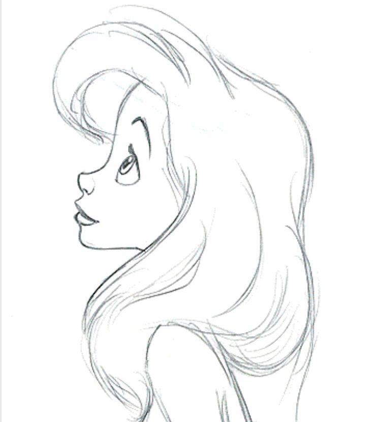 Disney Ariel Mermaid Art In 2019 Zeichnungen Meerjungfrauen