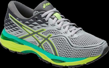 ASICS Women's Gel Cumulus 19 Road Running Shoes Mid Gray