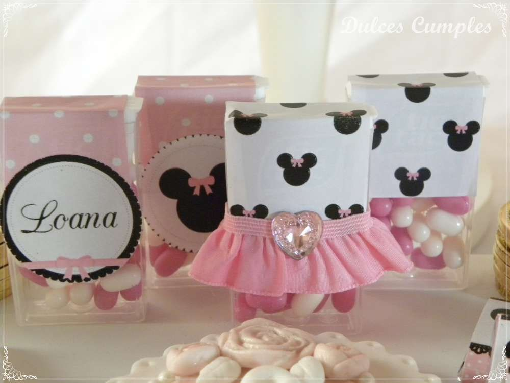 Loana´s Minnie Birthday Party | CatchMyParty.com