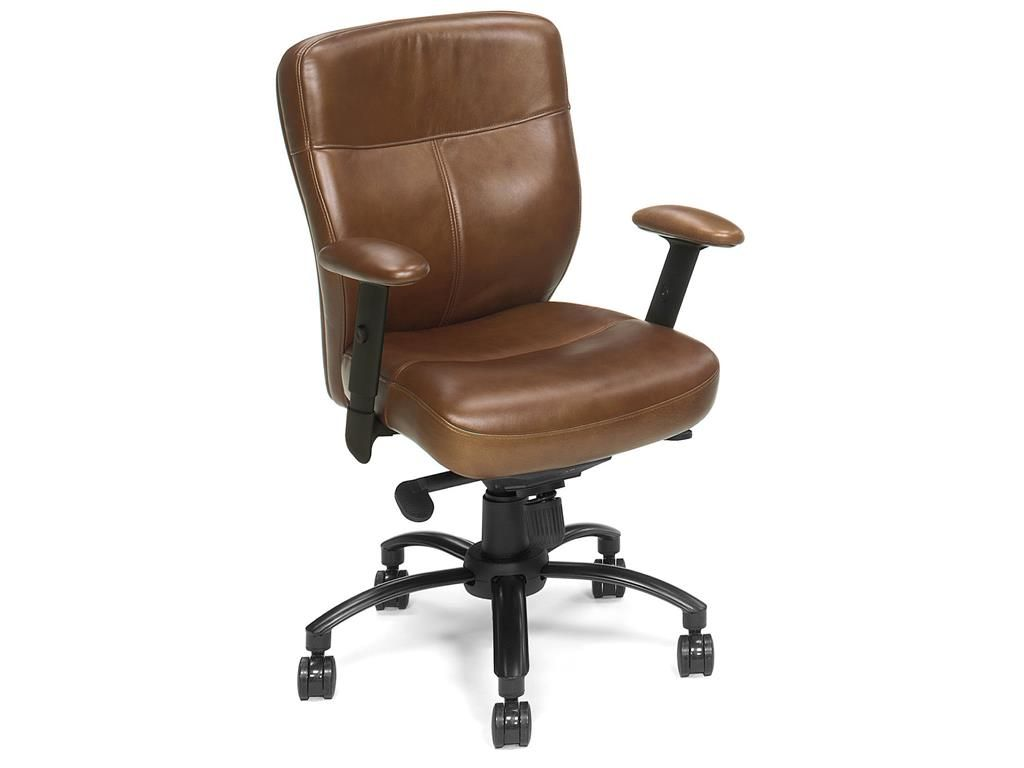 Brown conference chairs - Furniture
