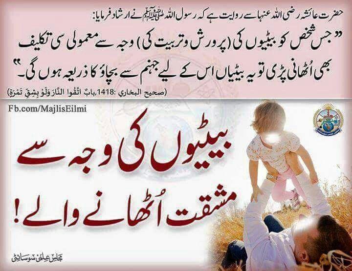 Hadees mubarak | Urdu image, Islam hadith, Women in islam ...