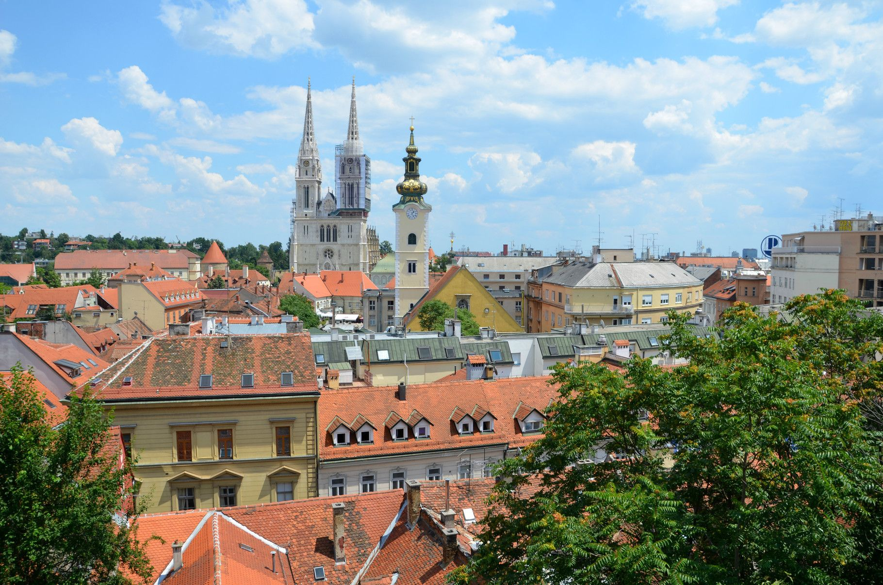 The Upper Town Old Part Of Zagreb Europe S Best Destinations Europe Travel Destinations Europe Travel Europe Destinations