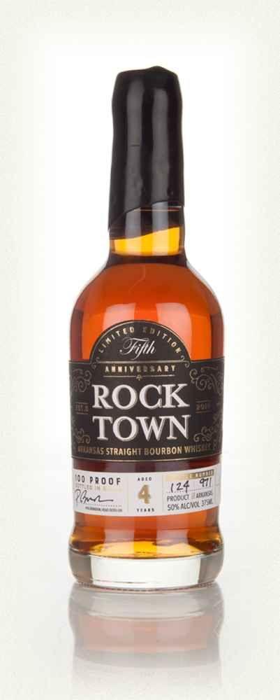 Rock Town Fifth Anniversary Bourbon 37.5cl