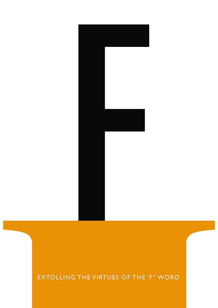 F - from the Typographical Alphabet by Tony Baker