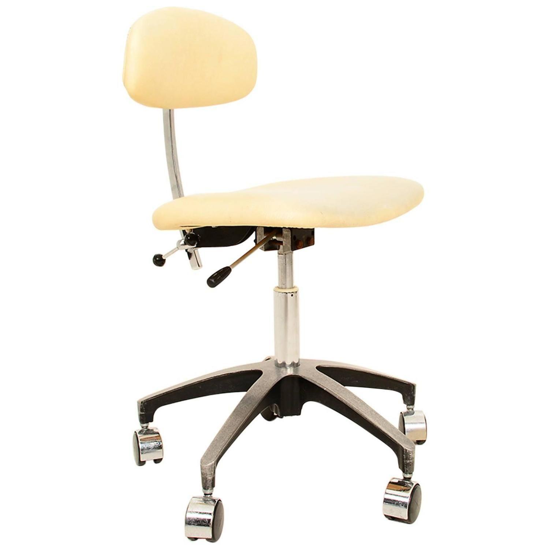 Mid Century Modern Industrial fice Desk Chair
