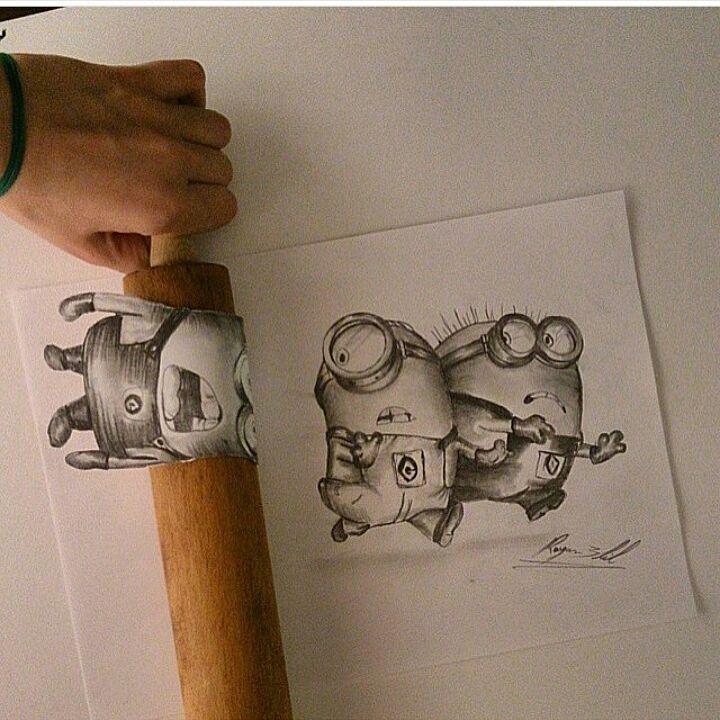 Dope Art  Tag your mates.  #Minions #Minion