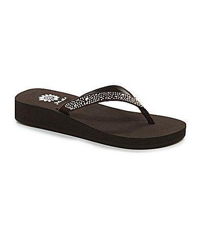 286de772cec8 Yellow Box Zeus Flip Flop Sandals  Dillards