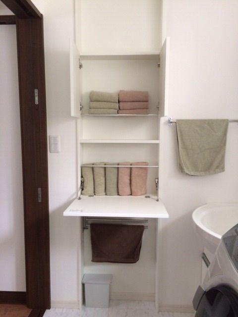 我が家の洗面所&タオル収納初公開! Small Space Ideas Washroom、toilet