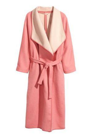 woolmix coat pink h&m €129