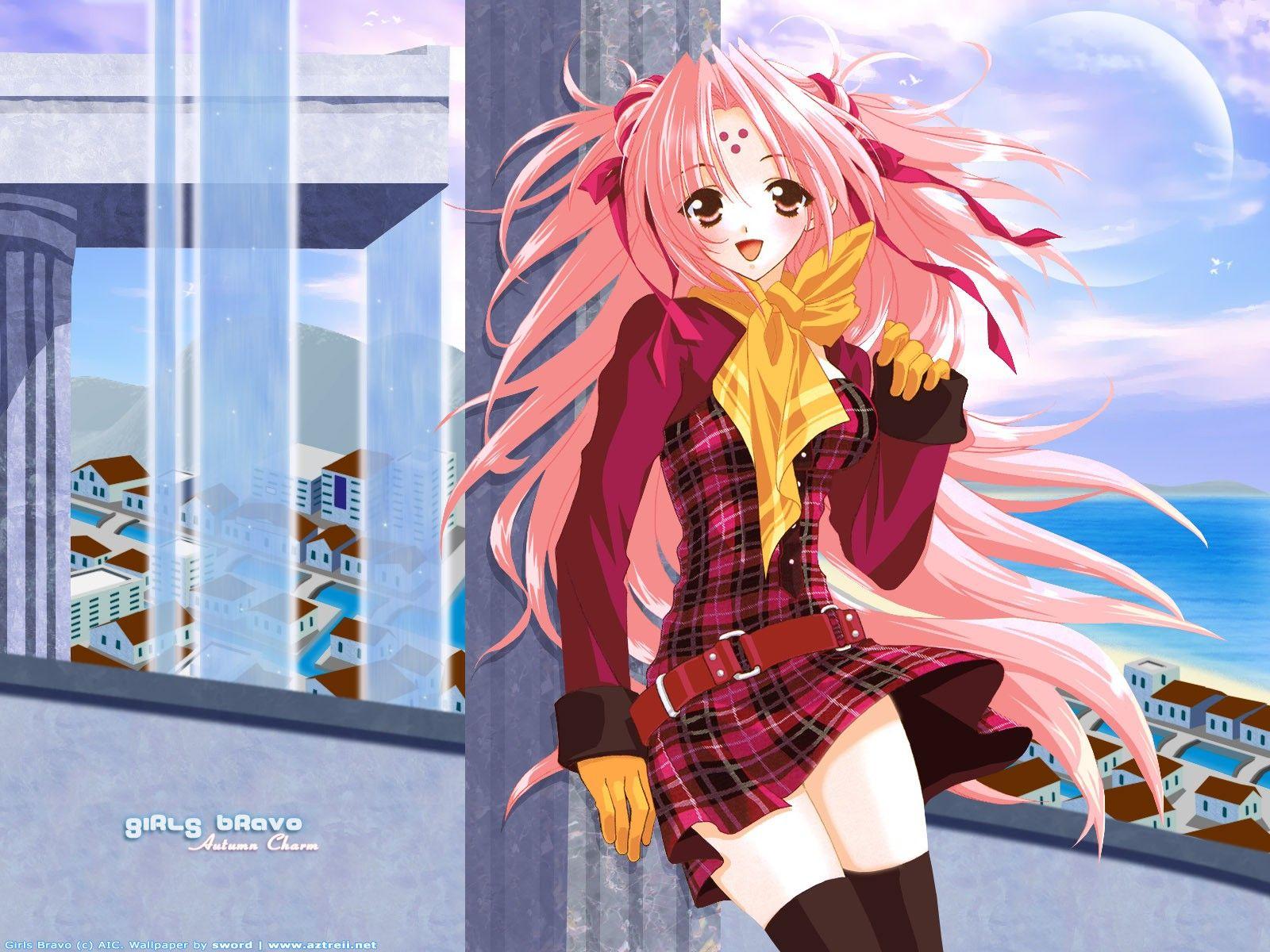 Girls Bravo Anime Miharu Art