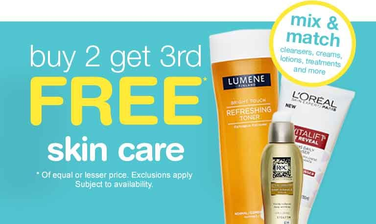 Buy 2 Get 3rd Free Skin Care Walgreens Free Skin Care Products Skin Care Skin