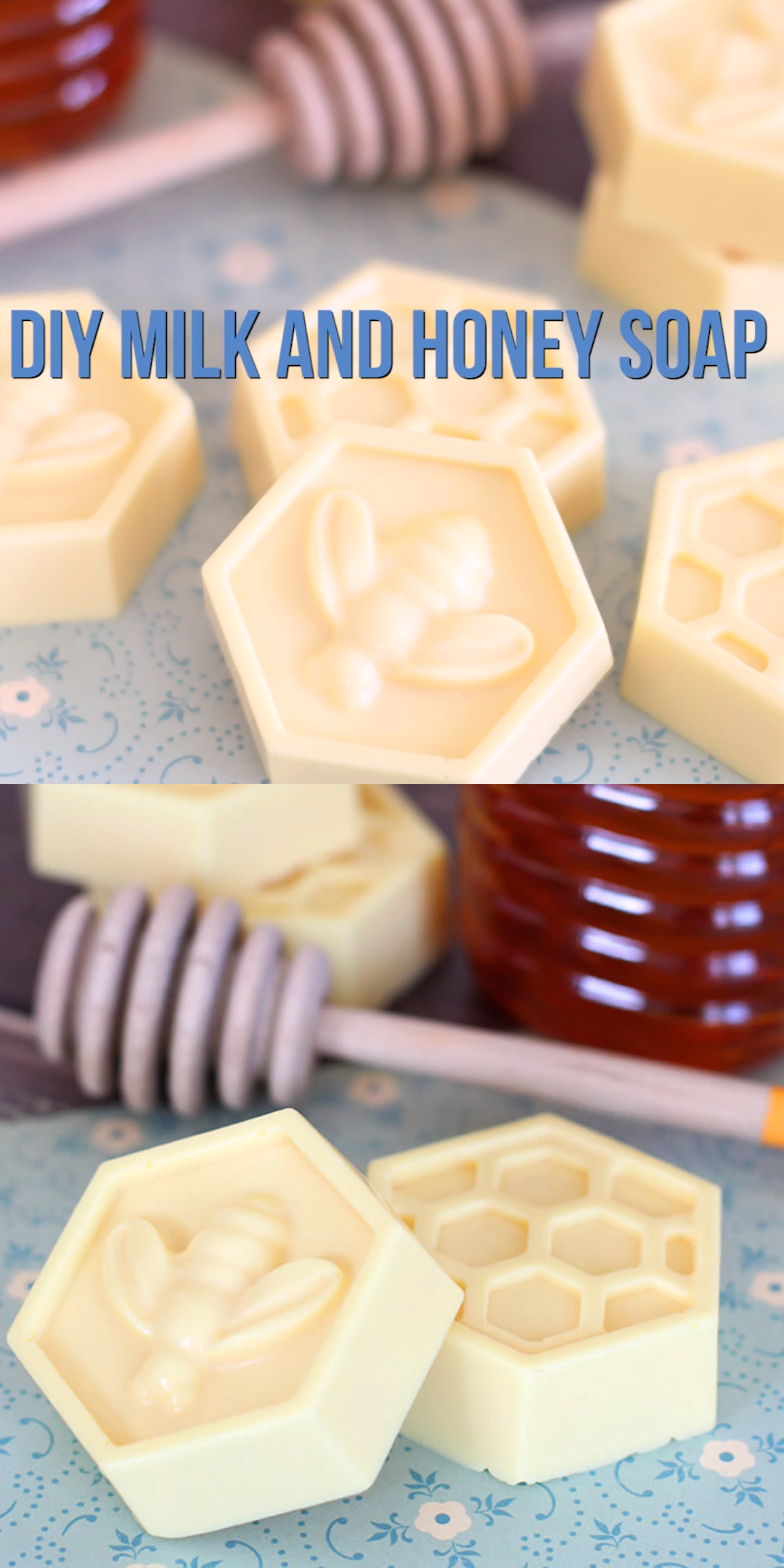 10-Minute DIY Milk & Honey Soap