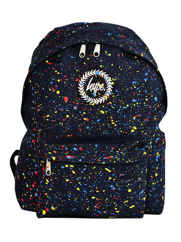 Hype Navy Primary Splat Backpack   ebay   Pinterest   Bags ... 6cb55c770a
