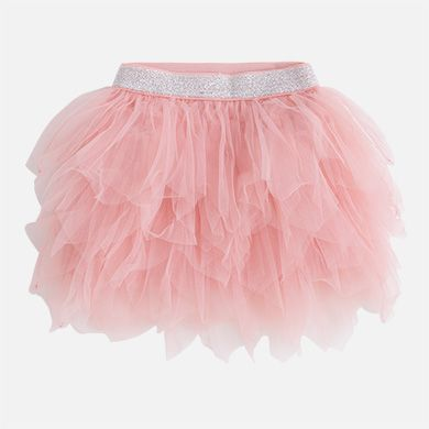 8fc47e628 Falda corta de niña en tul Chicle - Mayoral | BIMBI | Falda de tul ...