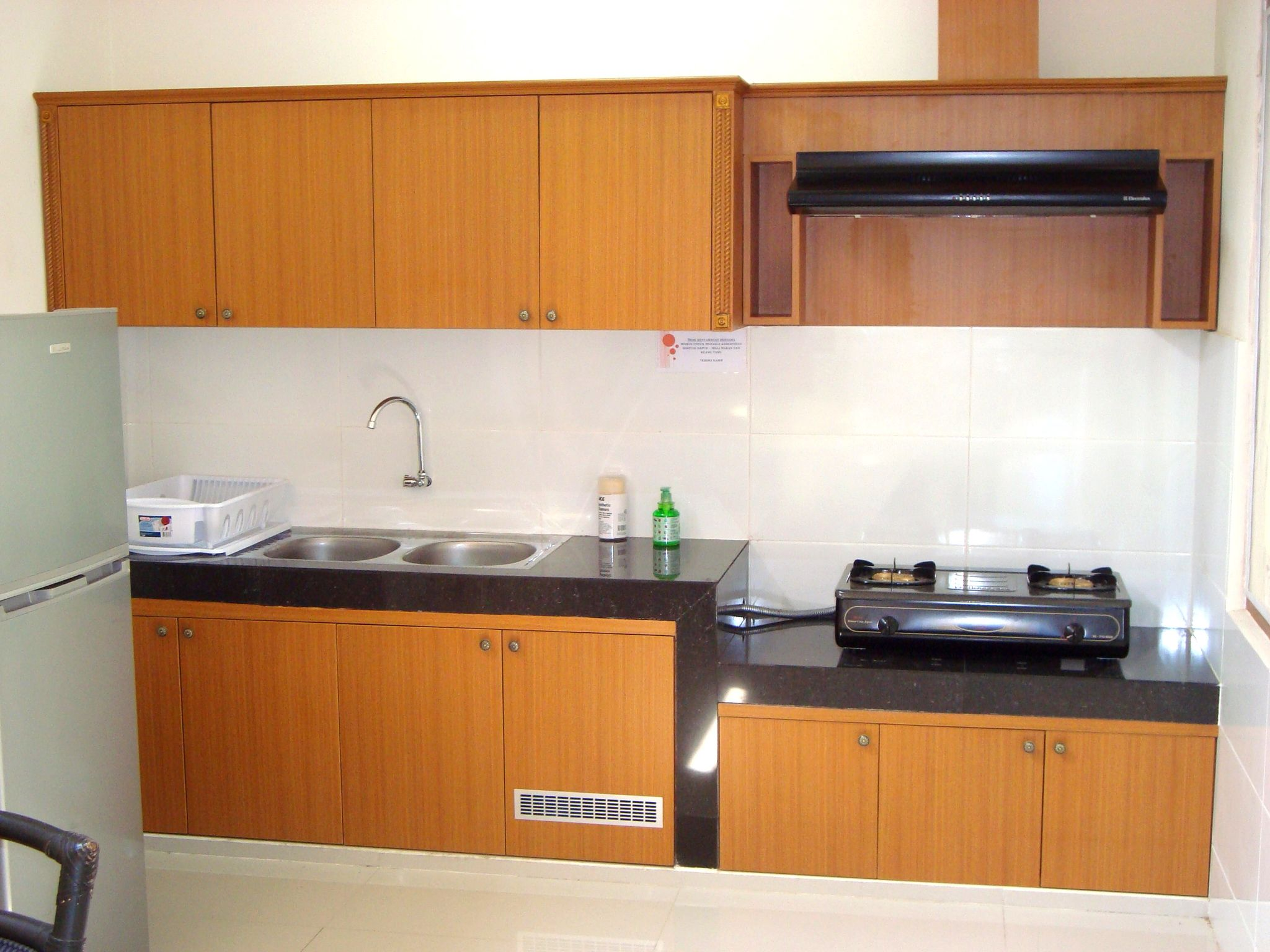 Simple Kitchen HPL Design From Luxury Interior Surabaya Indonesia