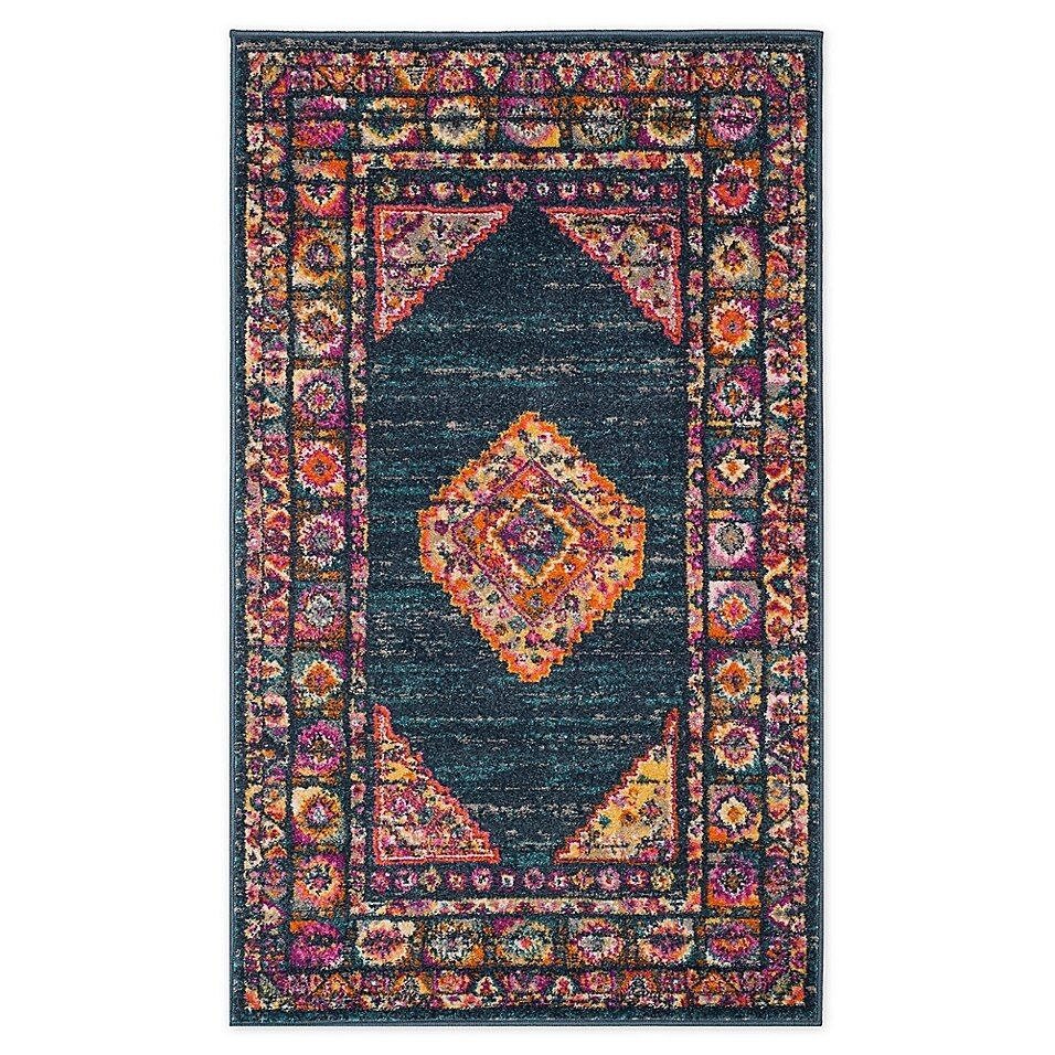 Safavieh Madison 4 X 6 Kelly Area Rug In Blue Area Rugs Home