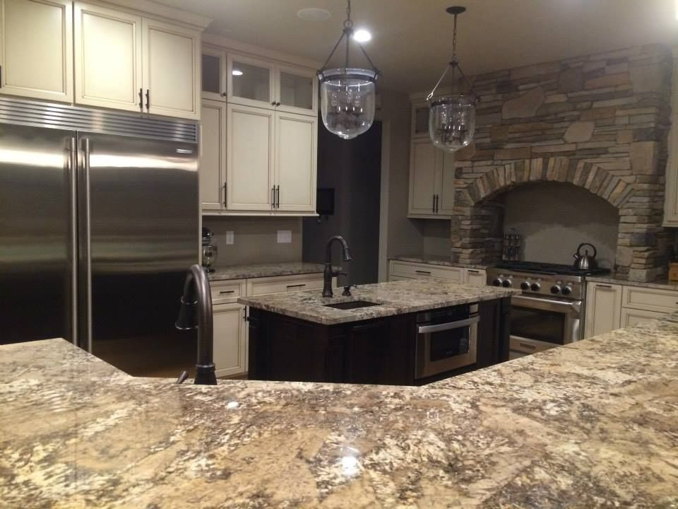 Pin By Midwest Tile Granite Marble On Great Kitchen Granite Countertop Ideas Kitchen Remodel Granite Countertops Granite Installation
