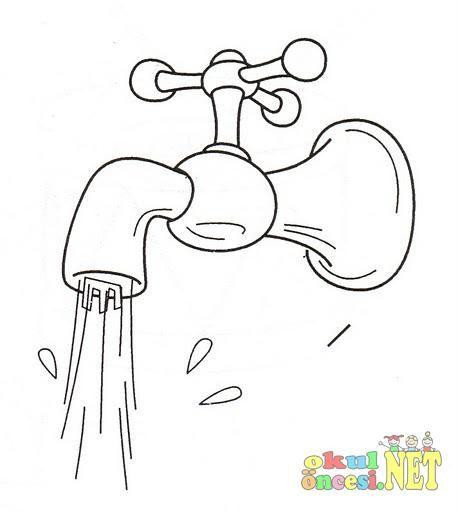 плюс картинки раскраска кран с водой этом году учетом