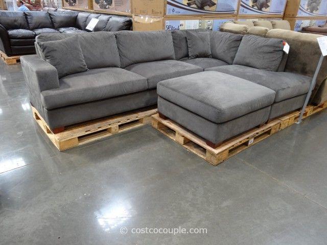 Emerald Home Elijah Sectional Costco 5 Grey Sofa