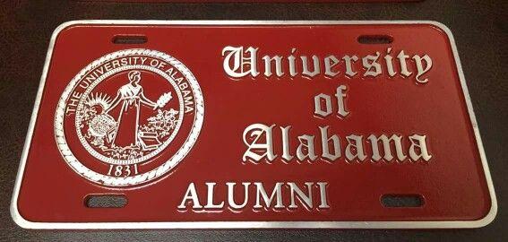 University of Alabama Alumni w/seal Olde English....