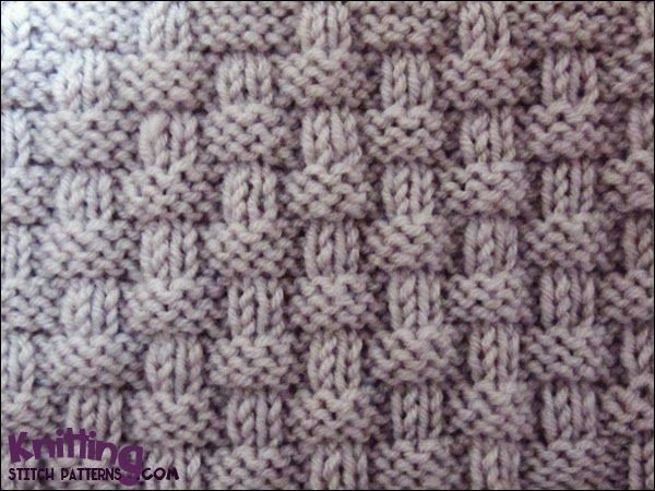 Textured Knitting : Alternating knit and purl stitches created this richly textured