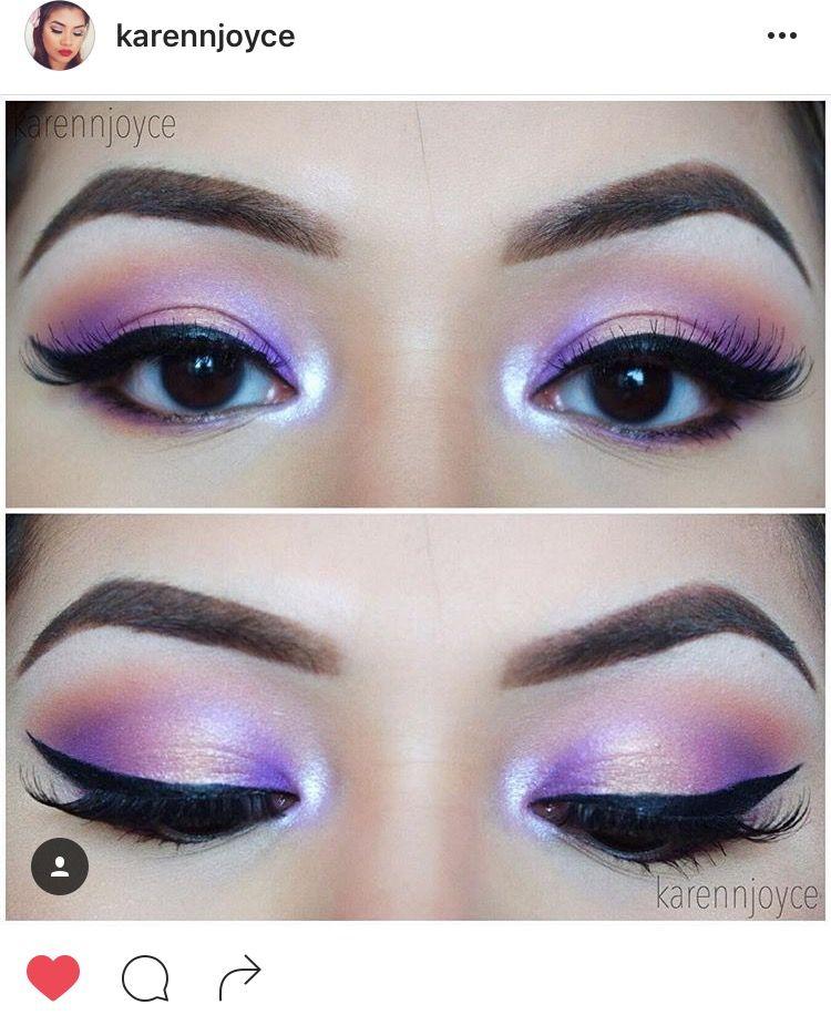 Beautiful makeup 💕 by @karrennjoyce via Instagram