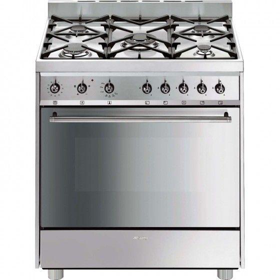 Cocina smeg c8gvxi 2 cocinas de gas pinterest cocina - Cocinas smeg precios ...