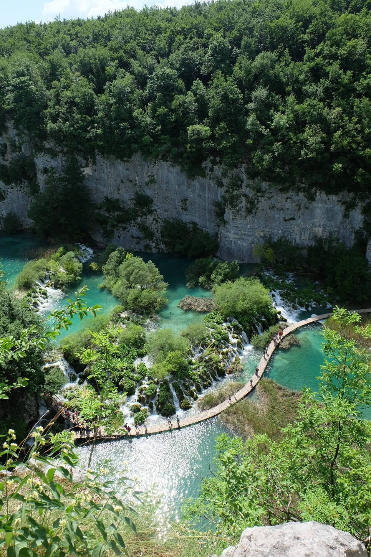 Visiting The Plitvice Lakes National Park Croatia Travel