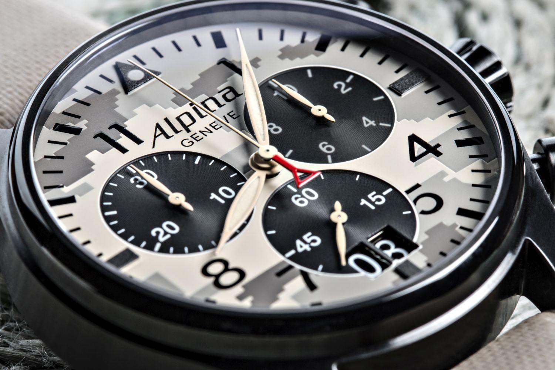 Alpina Startimer camouflage chronograph