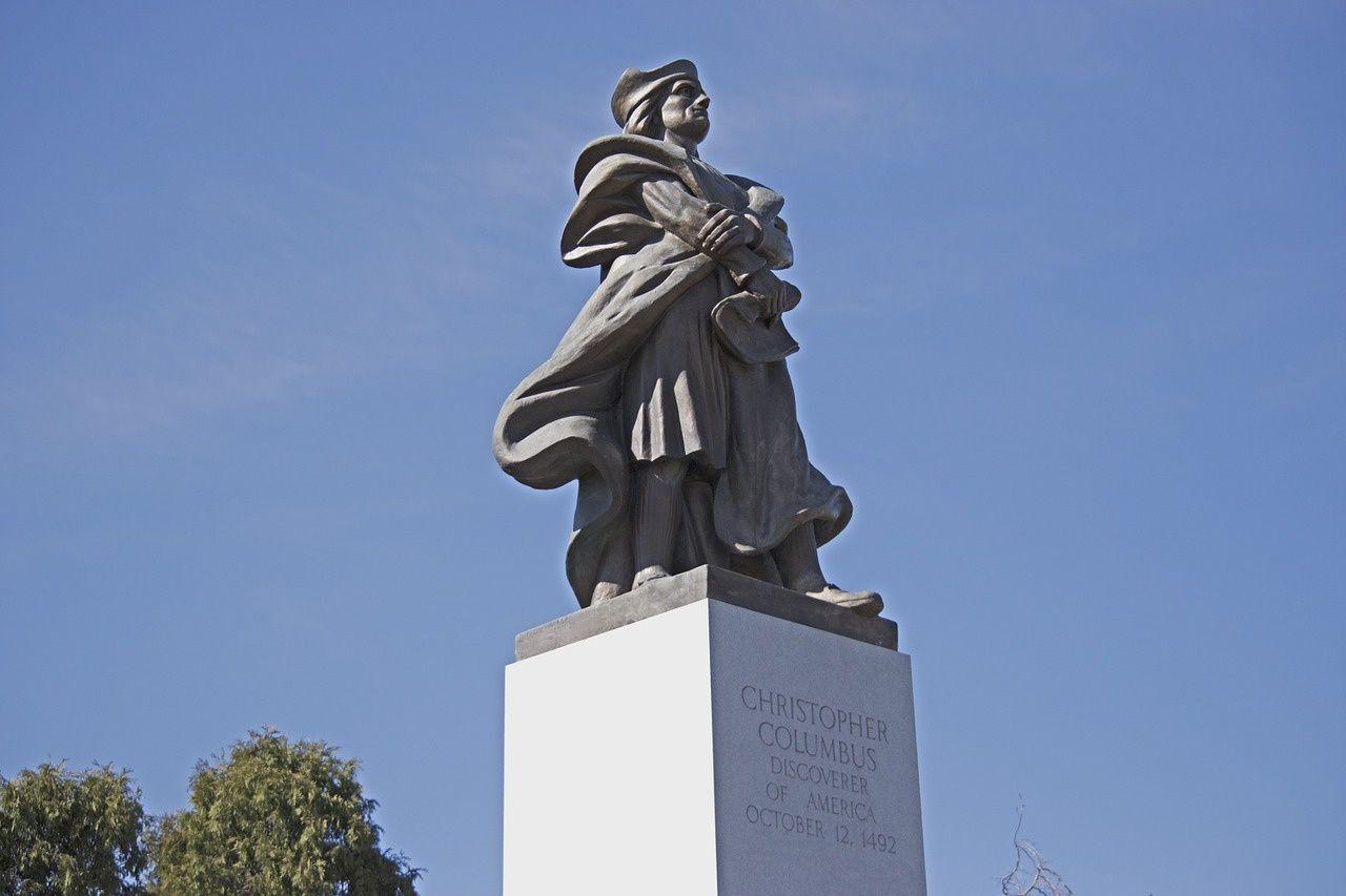 Lumière et précurseurs, citation de Christophe Colomb