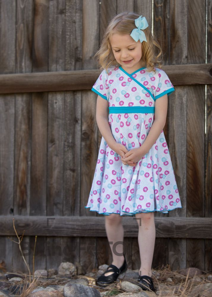 Pattern Review: A Sparkly Baby\'s Easy Peasy Crossover Dress ...