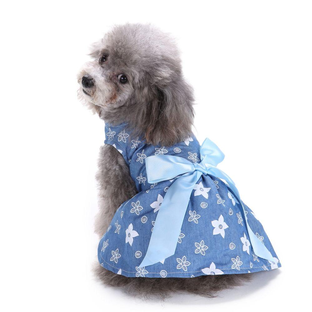 Chfun Dog Princess Dresses Cute Pet Clothes Dog Dress Flower Girl