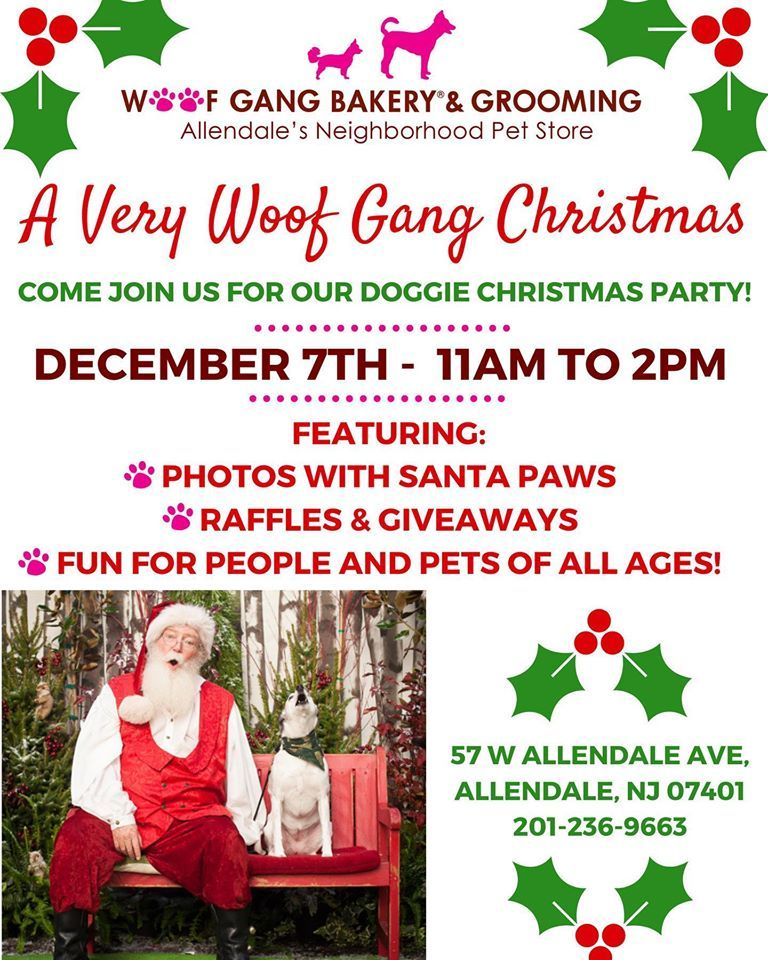 Come Join Us Dec 7th For Doggy Christmas Party Wgb