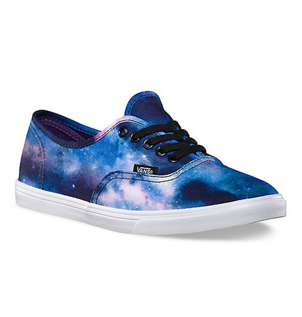 Cosmic Canvas Kicks | Galaxy shoes, Vans authentic lo pro