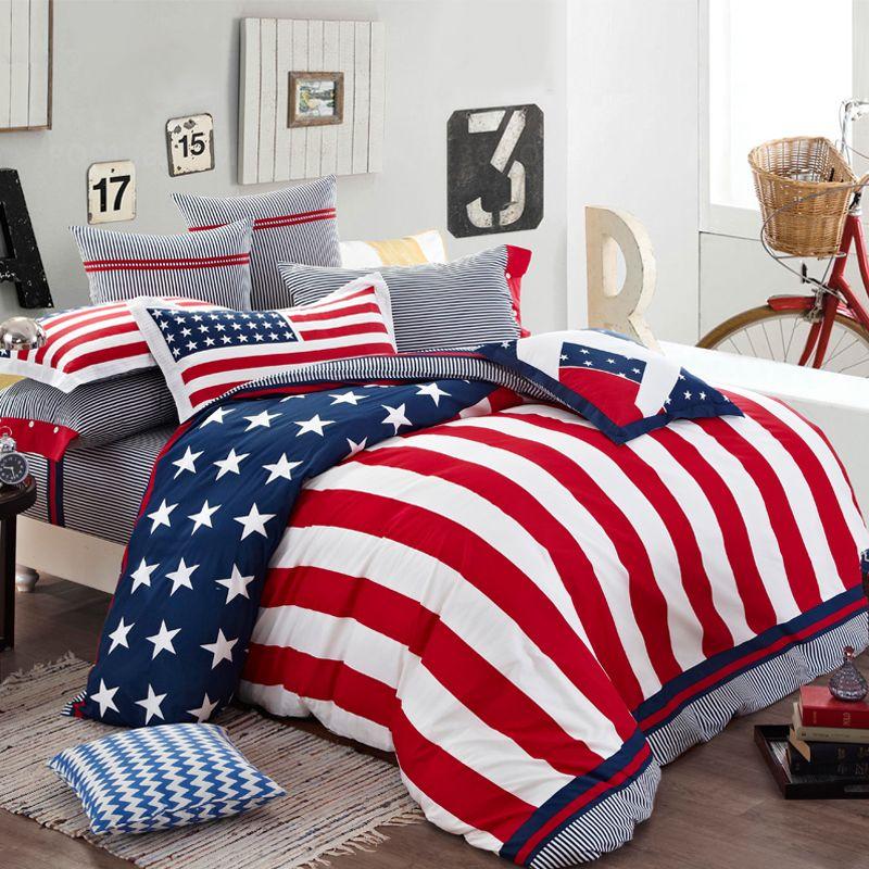 Patriotic Bedroom American Style