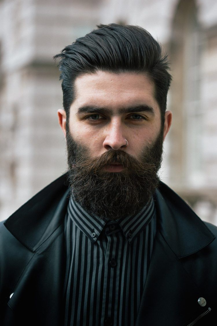 Coupe hipster homme 30 id es pour interpr ter la tendance sa fa on degrader arriere et - Barbe hipster chic ...