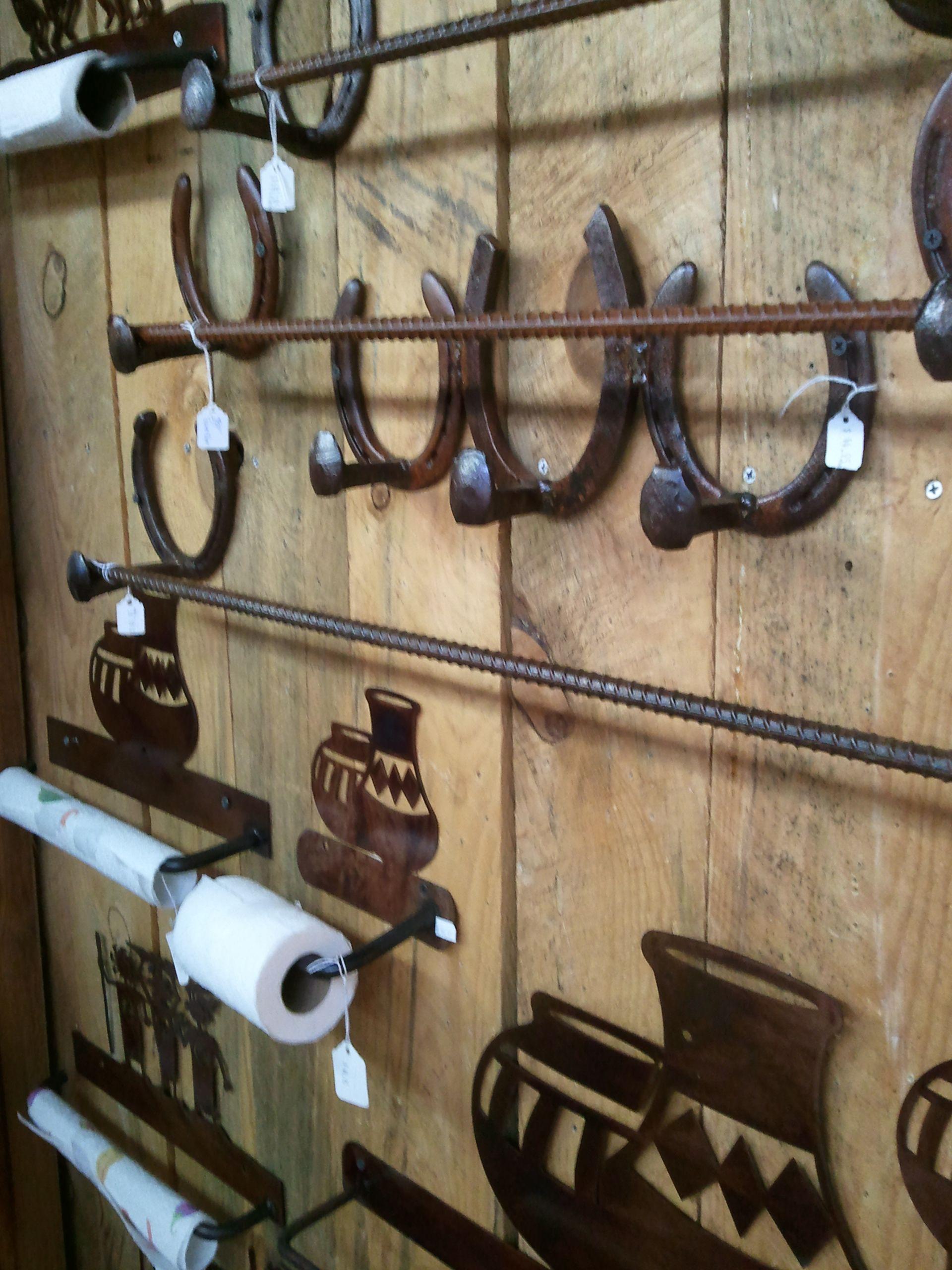 Coat Rack And Towel Bars From Santa Fe, Nm Made